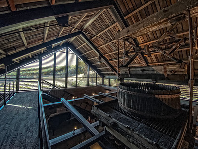 Epoch Winery - inside out view