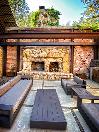 Epoch winery - outside patio