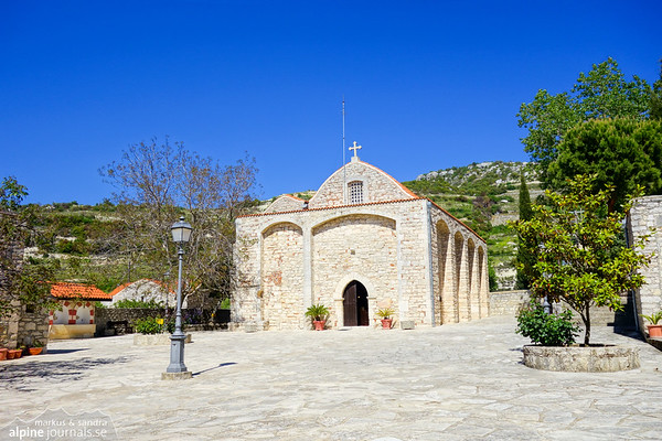 Agio Moni Monastery near Panagia