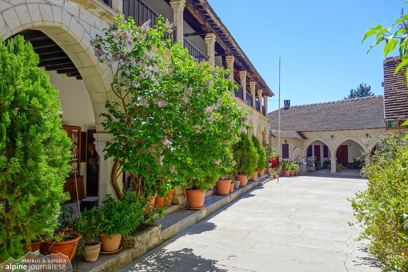 Monastery of Chrysorrogiatissia near Panagia