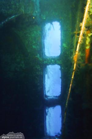 Inside the bridge of Zenobia