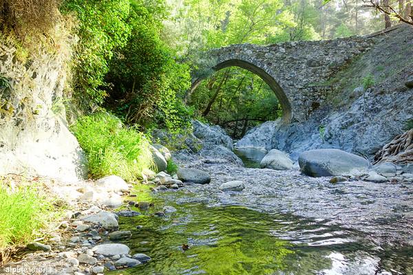 Elaia Medieval Bridge, near Agios Nikolaus