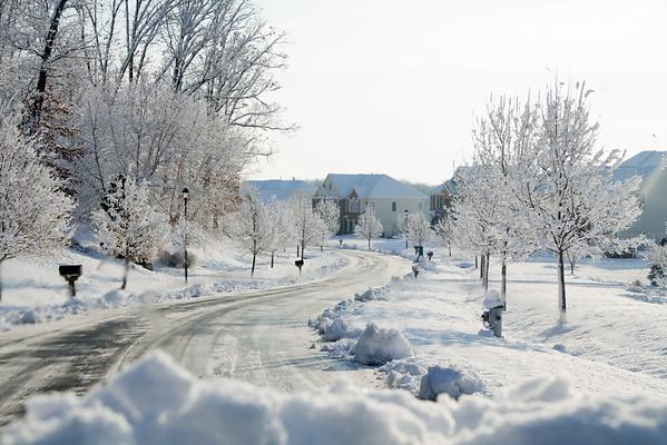 Sunday Drive in Winter