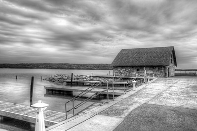 Door County, Wisconsin - May, 2013 - Black and White