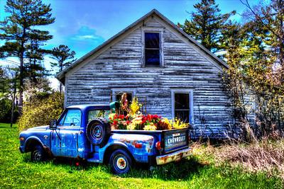 Gus Klenke Garage - Door County, Wisconsin - May, 2013