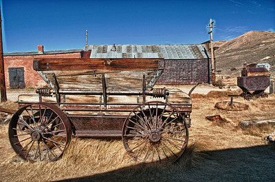 Bodie HDR wagon