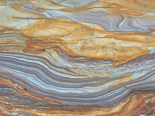 Rock Strata Abstract