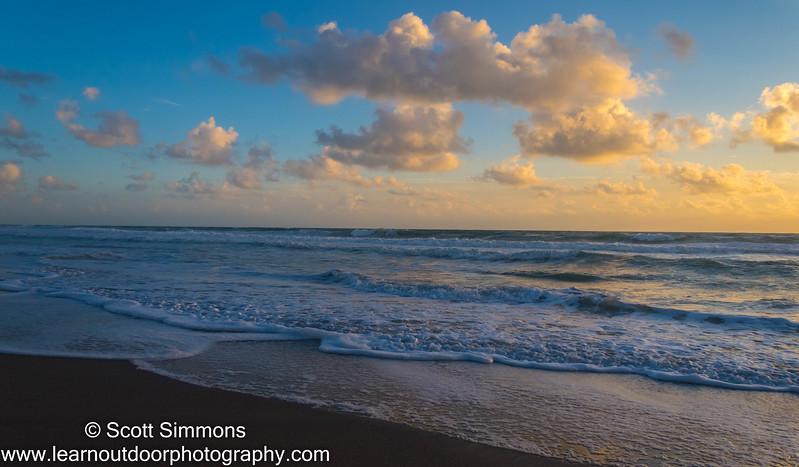 Shore at Sunrise