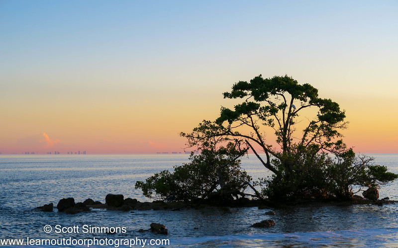 Sunrise Over Black Point Marina