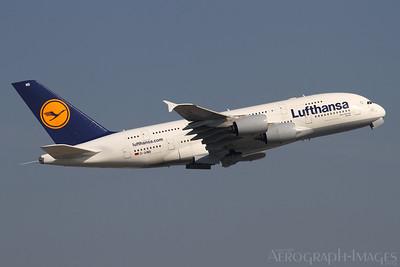 Reg:  D-AIMBOperator:  LufthansaType:  Airbus A.380-841  C/n:  041Location:  Frankfurt-am-Main (FRA / EDDF), GermanyPhoto Date:  30 August 2013 Photo ID:  1300860