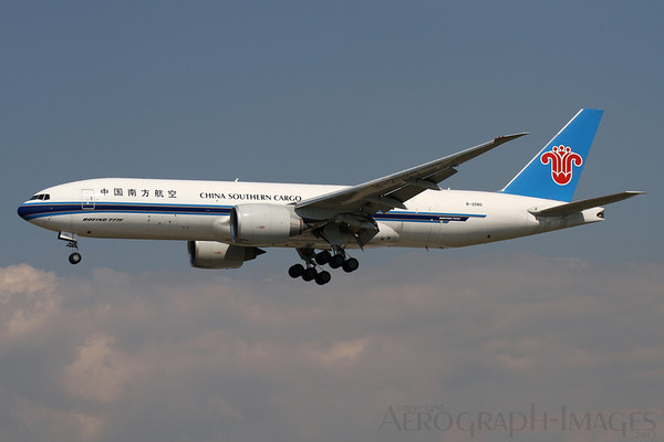 Reg: B-2080 Operator:  China Southern Airlines Cargo Type:  Boeing 777-F1B		   C/n: 37314 / 983 Location:  Frankfurt-am-Main (FRA / EDDF) - Germany        Photo Date: 30 August 2013 Photo ID: 1300798