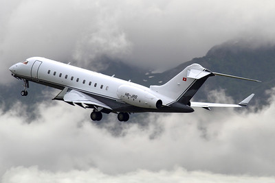 Reg: HB-JRS Type:  Bombardier BD-700-1A11 Global 5000		   C/n: 9174 Location:  Geneva - Cointrin (GVA / LSGG) - Switzerland        Photo Date: 21 May 2013 Photo ID: 1300669