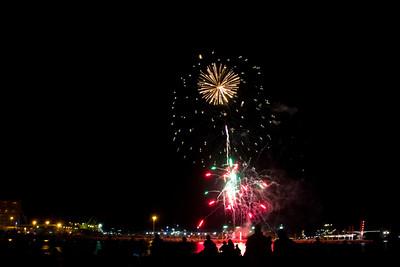 Fireworks, Australia Day 2017