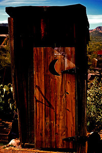 Moon Outhouse