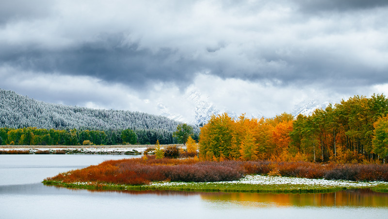 Fall Colors and Winter Storm