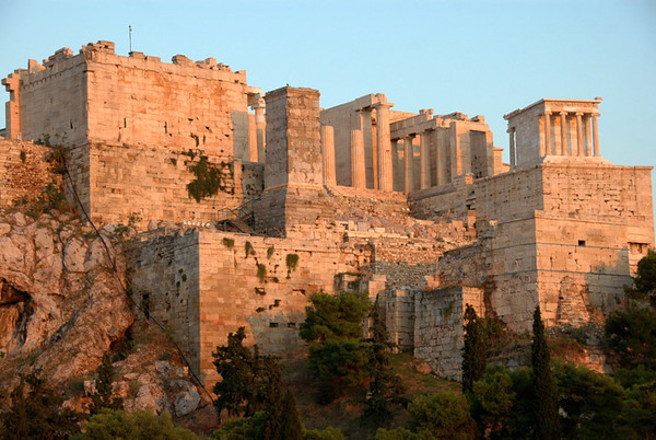 Athens - The Acropolis at Dusk