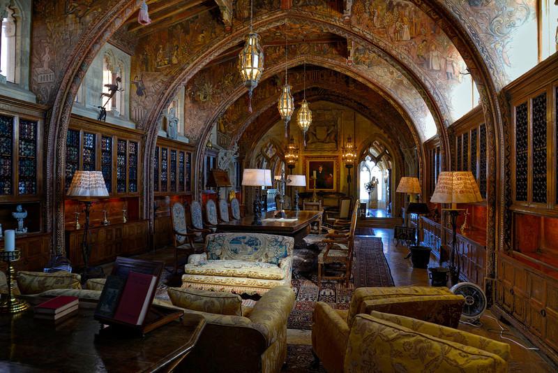 Main upstairs library