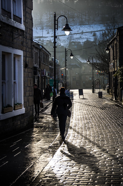 Hebden Winter Sun