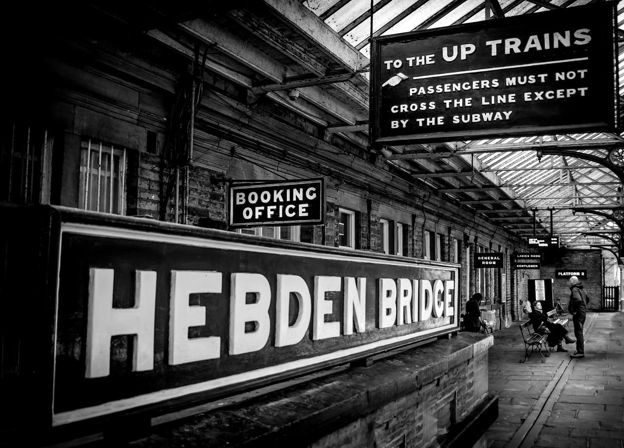 Hebden Bridge Rail Station