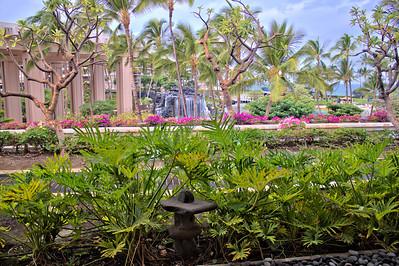 The Hilton Waikoloa Village waterfall