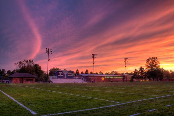 Franklin Field At Sundown