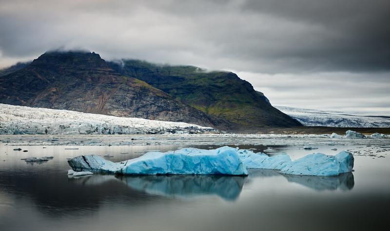Glaciers in a Lagoon