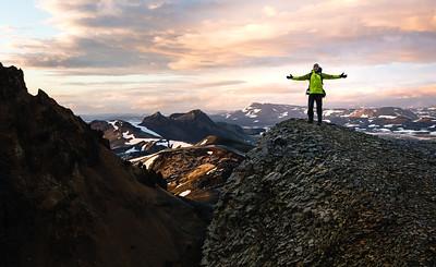 Random Mountain, Climbing