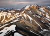Landmannalaugar - Opposing Peaks