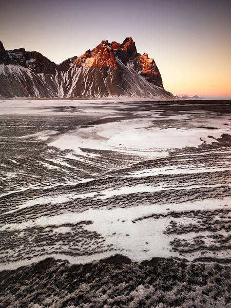 Waves of Snow and Sand