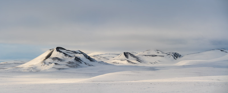 Snow Capped Hills