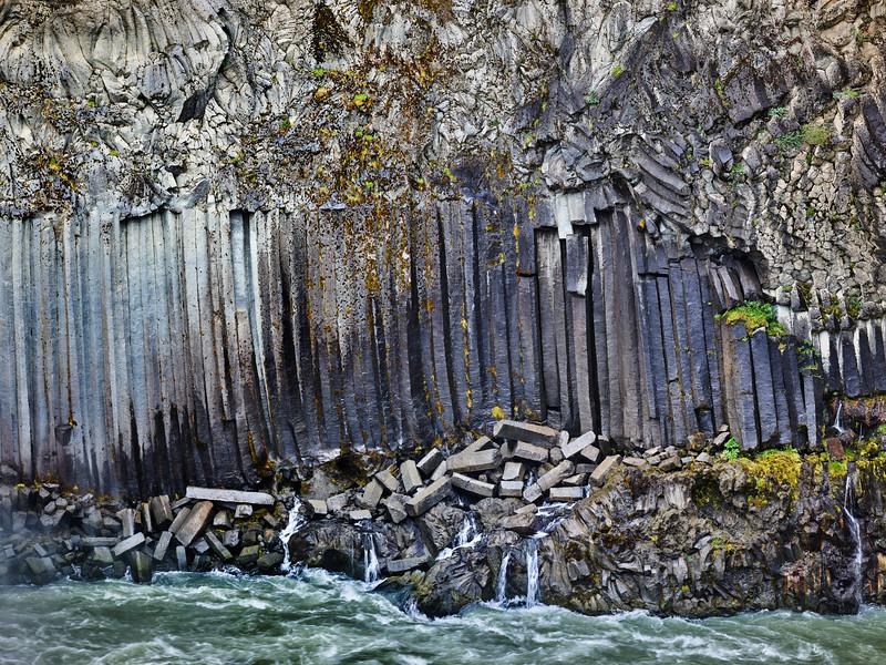 Basalt Column Wall