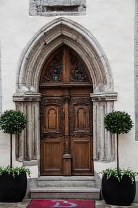 Ornate Tallinn Door