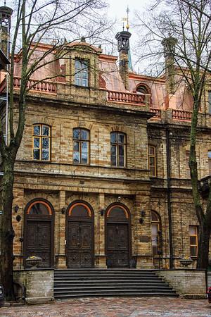 Old Homes in Toompea area of Tallinn