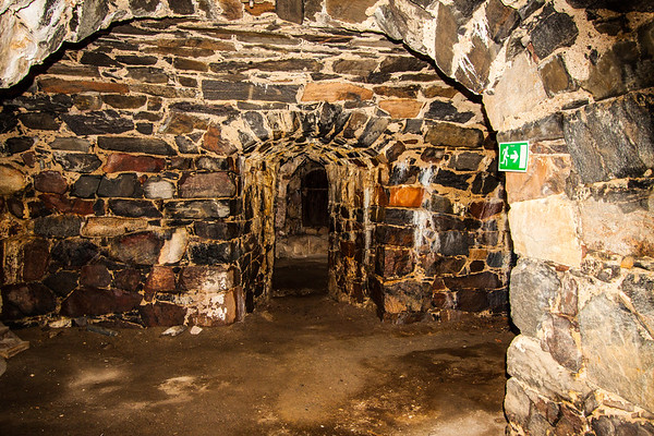 Inside a Suomenlinna Bunker