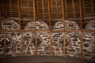 Interior of Wood Roof on Olavinlinna Tower