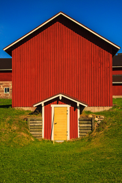 Finnish Barn and Root Cellar