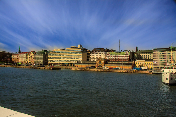 Helsinki Harbor Waterfront