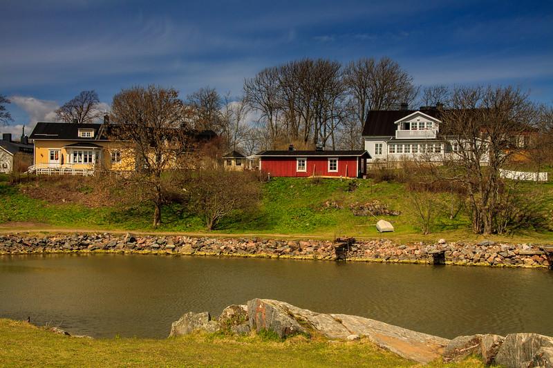 Homes on Suomenlinnan