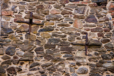 Olavinlinna Castle Wall Iron Reinforcements