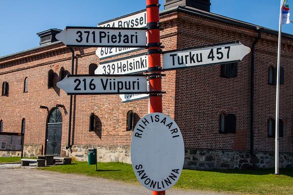How Far from Savonlinna ?