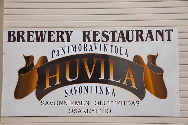 Panimoravintola Huvila in Savonlinna