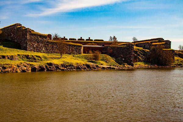 Part of Suomenlinna Fort