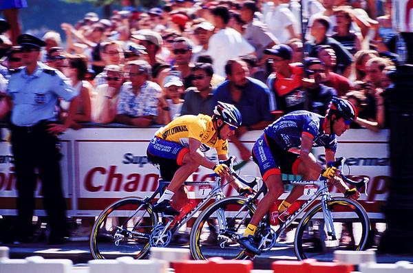Lance Armstrong 2001 Tour De France