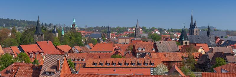 Quedlinburg Skyline