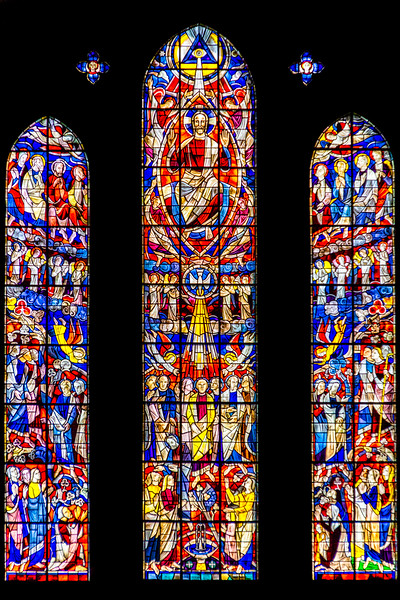 Stained Glass in Bremen Cathedral