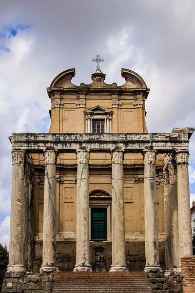 Temple of Antoninus and Faustina Pius