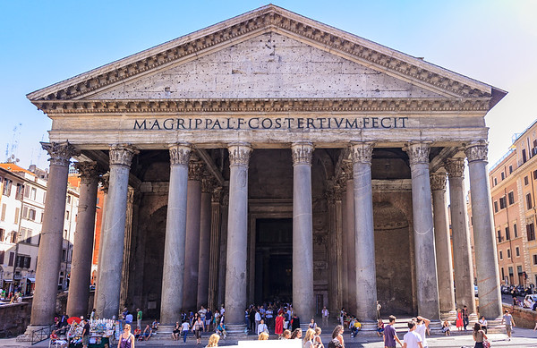 The Pantheon Portico