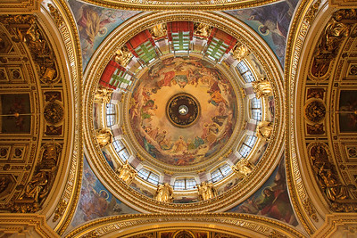 Main Dome of St Isaac's Cathedral