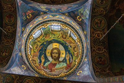Main Dome in the Savior of the Spilled Blood
