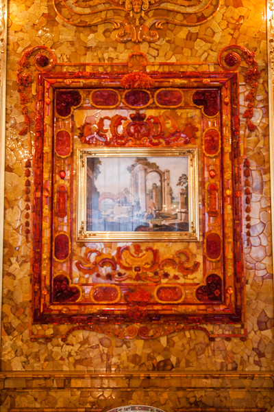 Amber Room Picture Frame